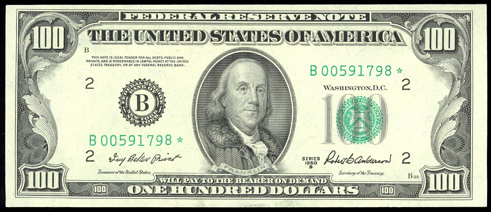US Federal Reserve Note