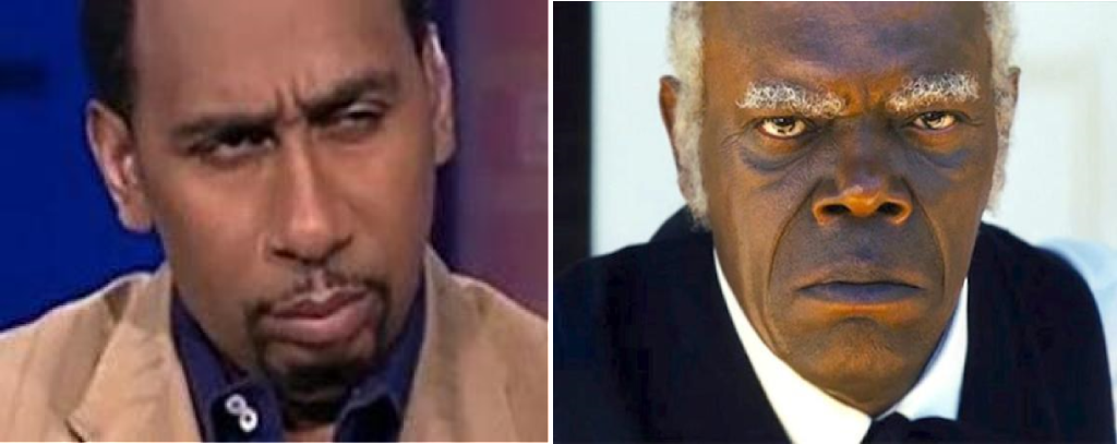 Stephen A. Smith, Samuel L. Jackson, Django Unchained, Uncle Tom