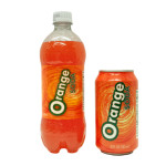 orange soda beverage