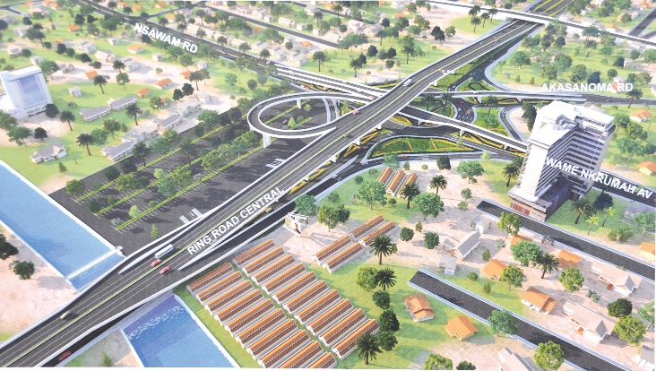 Plans for a new look for Kwame Nkrumah Circle.