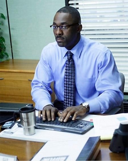 Idris elba the office