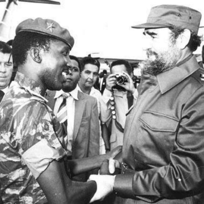 Thomas Sankara (1983-1987, Burkina Faso) And Fidel Castro (Cuba)