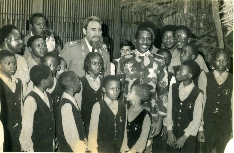 Thomas Sankara And Fidel Castro On Tour