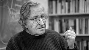 Writer Noam Chomsky.