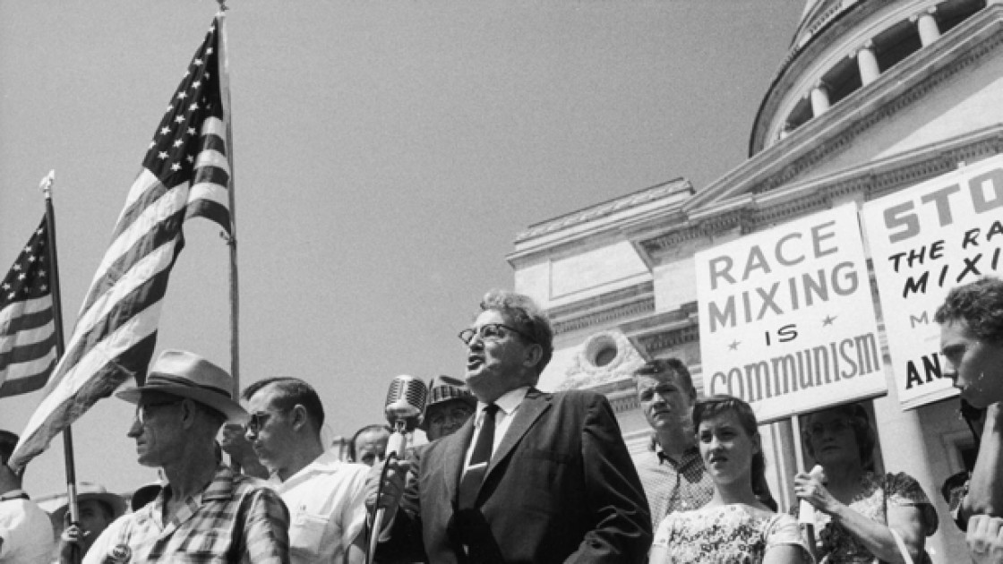 Just a few decades ago, whites in America stood proudly against different races interacting in daily life.