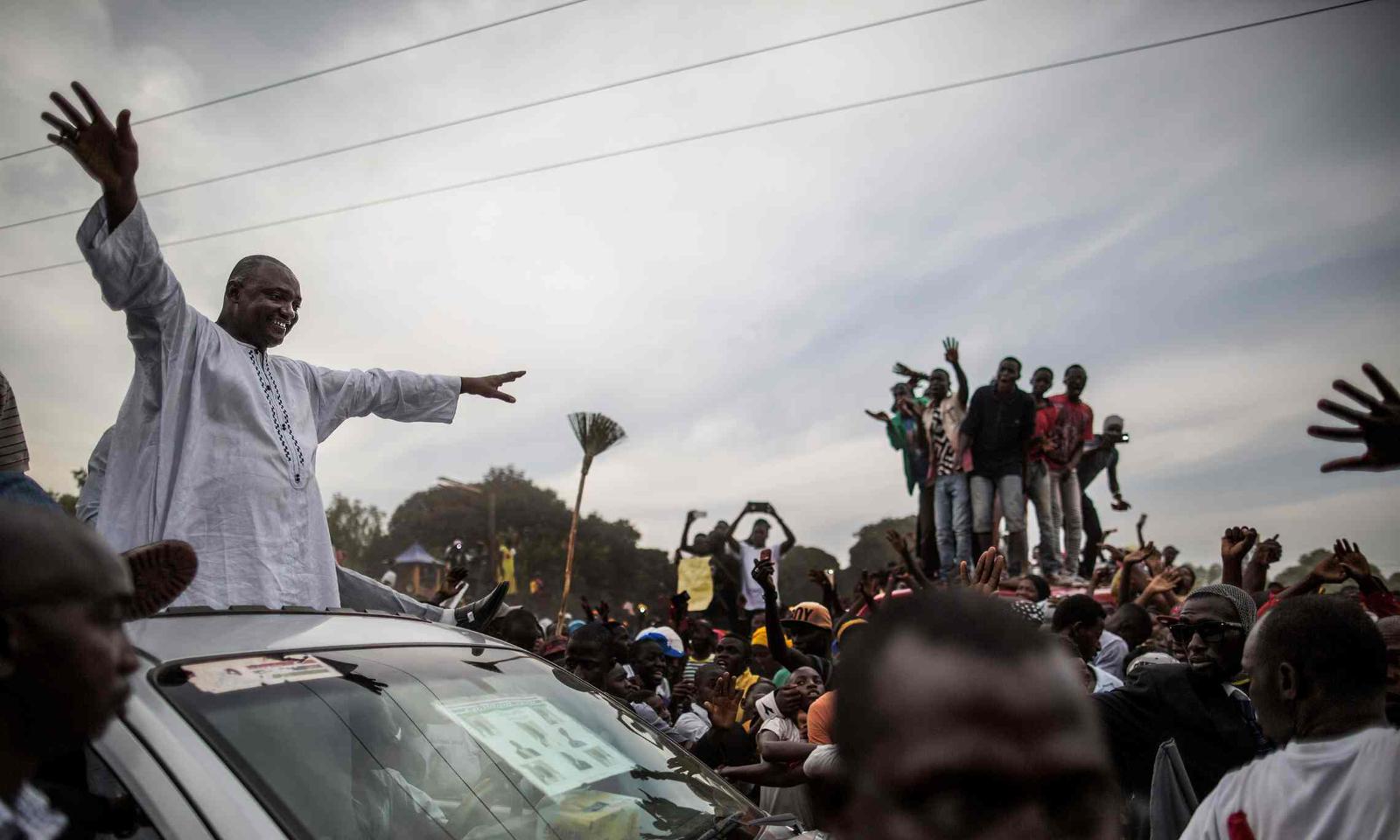 President-elect Adama Barrow