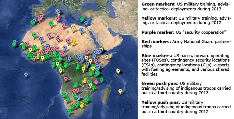 TESA Military Basis in Africa.